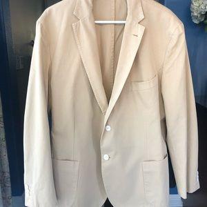 Men's Faconnable cotton blazer